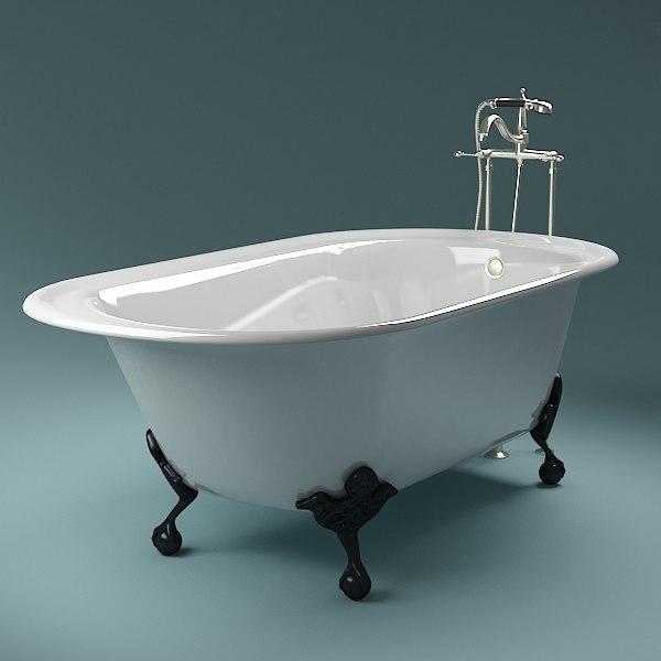 bathtub scanline max