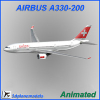 Airbus A330-200 Swiss International Air Lines