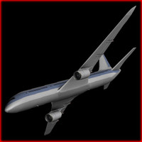 Aircraft Boeing 767