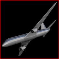 boeing 767 3d model