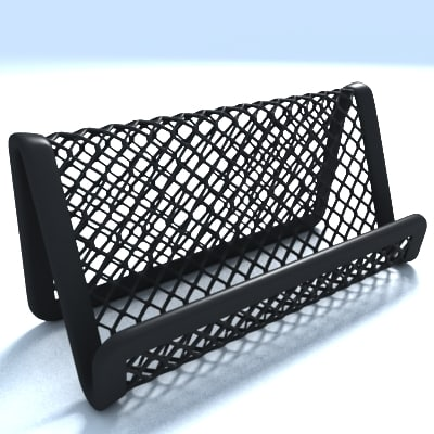 business card holder mesh 3d model