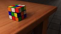 s cube 3d model
