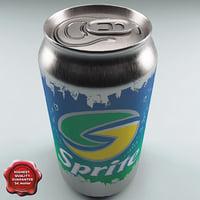 Drink Sprite 0,33L Aluminum Can V2