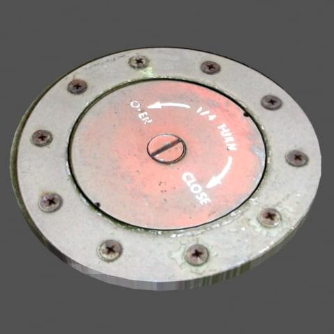 fuel valve cap 3d model