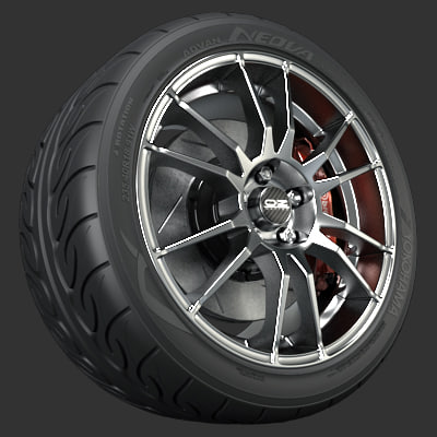 oz ultraleggera wheel 3d model