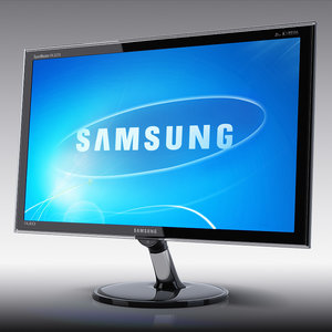 led monitor samsung px2370 3d model