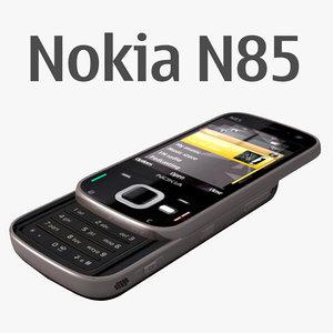 nokia n85 3d model