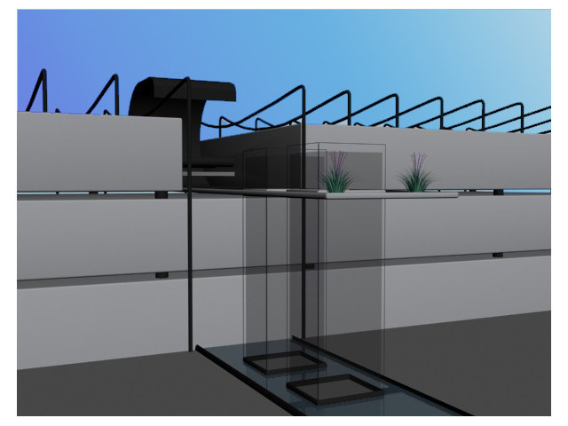 architecturally building office 3d model