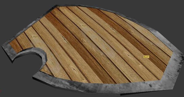 free max mode wood shield