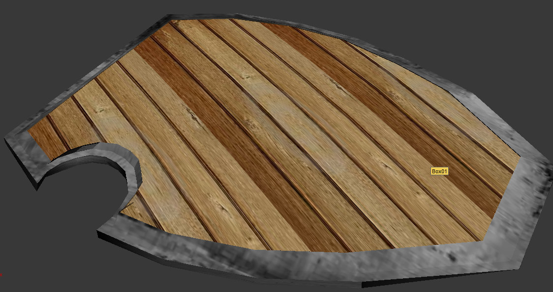 free max mode wood shield