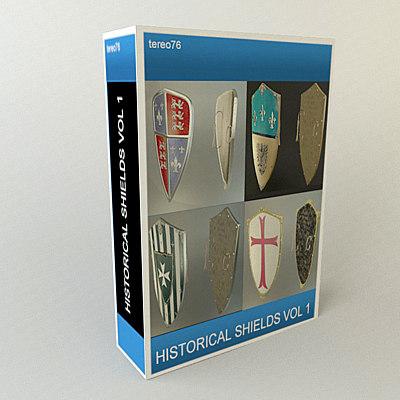 shields black prince 3d model
