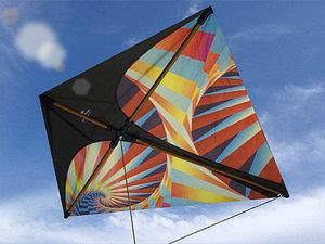 kite 3d model