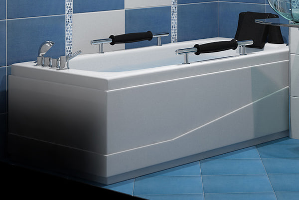 bathtub vicard 3088 3d model
