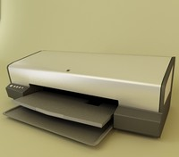 printer office 3d model