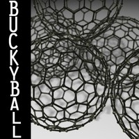 buckyball carbon 3d model