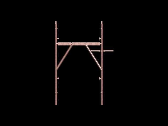 scaffolding builder 3d model