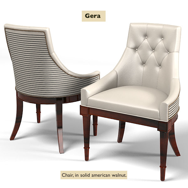Modern Art Deco Furniture nino gera 3d model