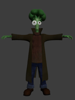 character animation 3d model