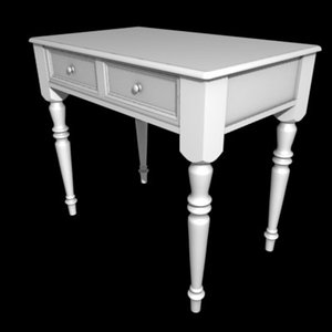 table commode 3d model