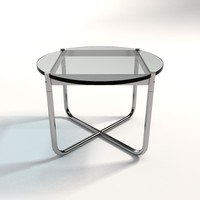 Mies Van Der Rohe MR Coffe Table