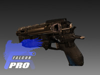 pistol ready 3d model