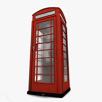 English Telephone Box K6