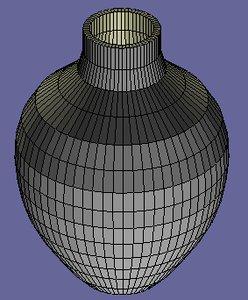 free simple vase 3d model