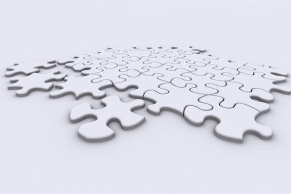 puzzle pattern 3d model