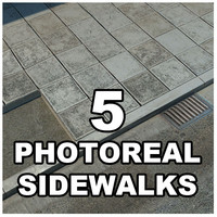 Photorealistic Sidewalks Package