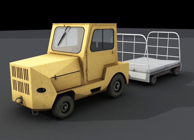 harlan truck 3d model