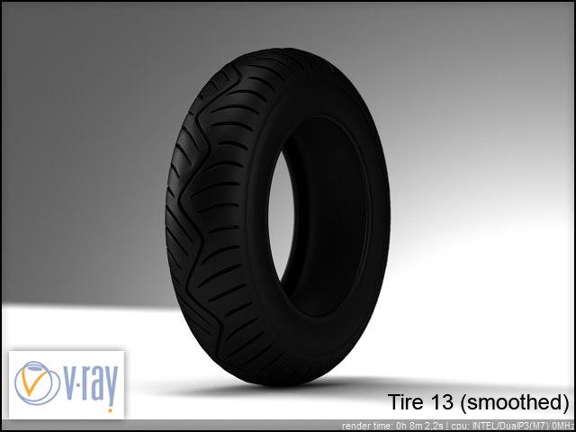 tire 13 3d model