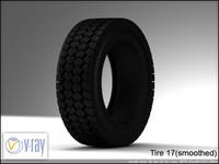 tire 17 3d model