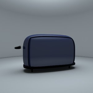 toaster classic 3d model