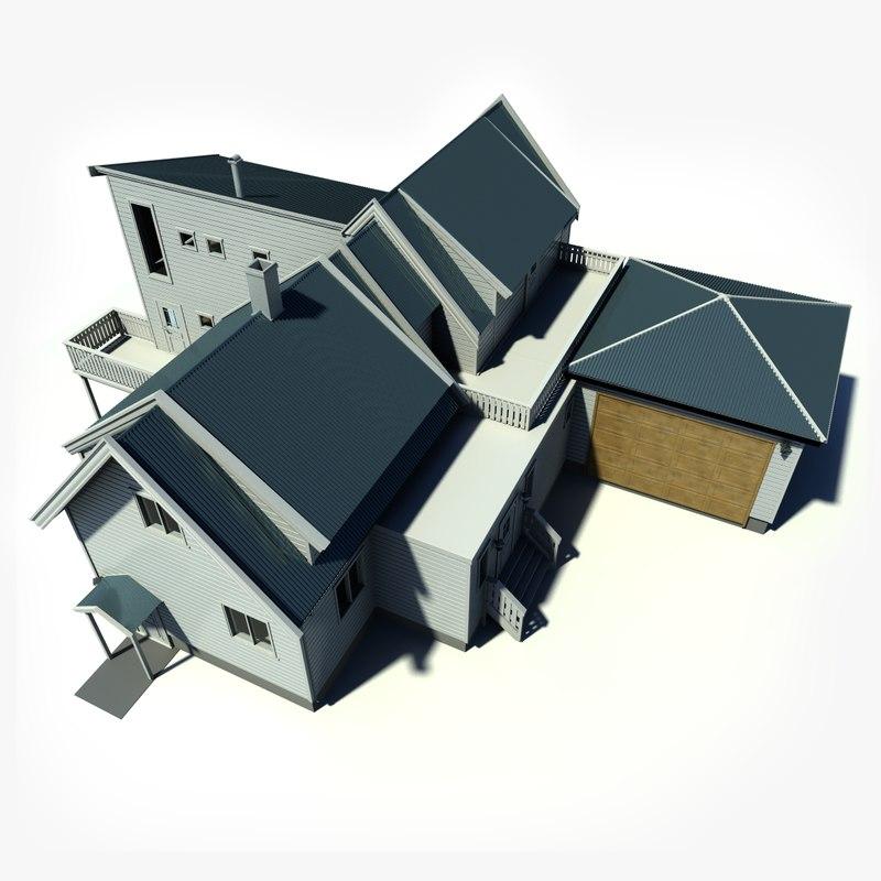 3d house nordic