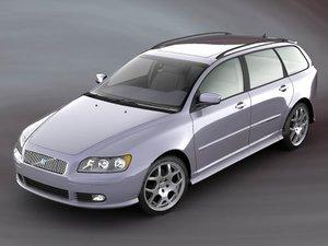 v50 sedan 3d model