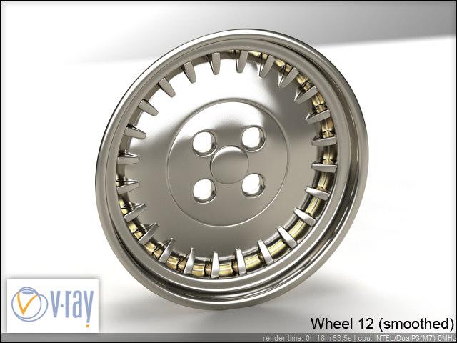 wheel 12 3d model
