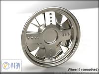 wheel 5 3d model