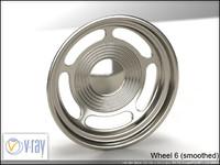 wheel 6 3d model