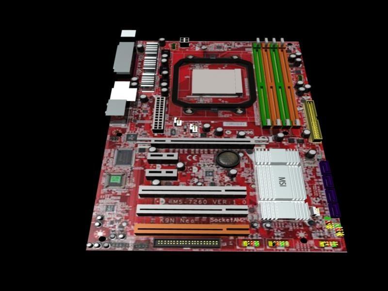 msi 3d model