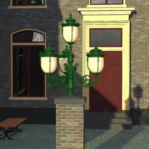 candel light 3d model