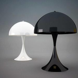 design lamps 3d model