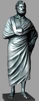 roman statue 3d model