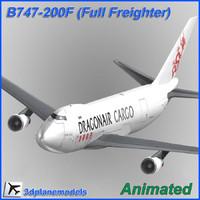 B747-200F Dragonair Cargo