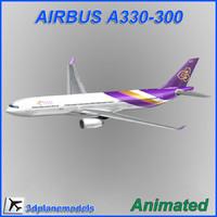 Airbus A330-300 Thai Airways International
