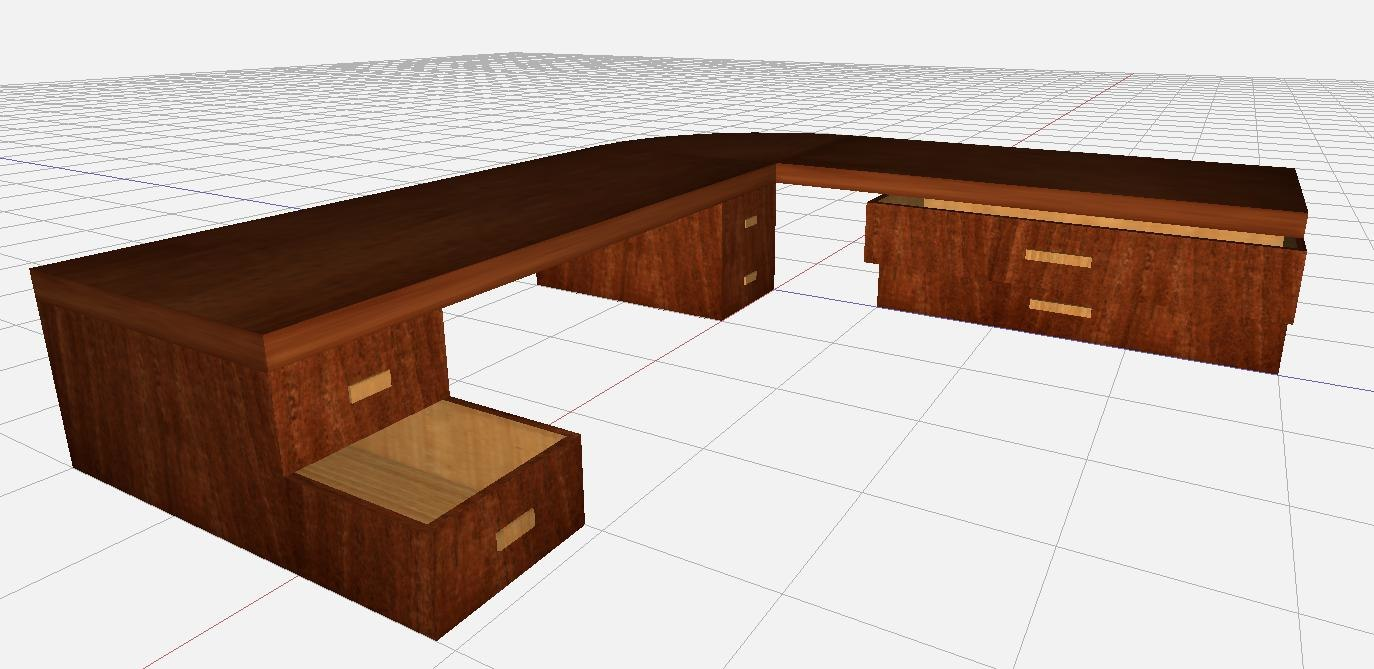 table corners 3d model