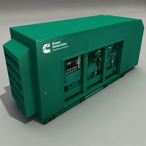 generator engineering 3d model