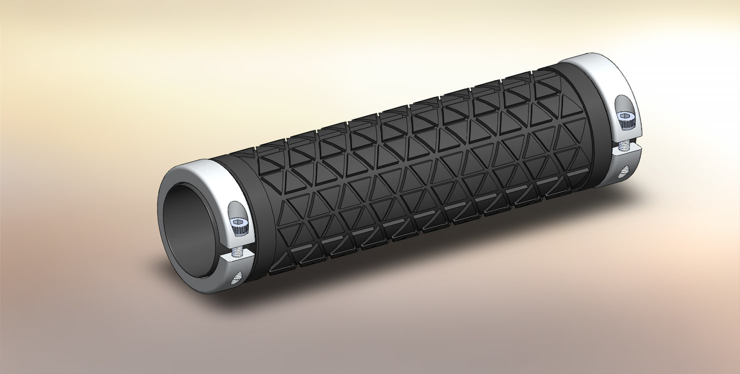 bicycle grip 3d model