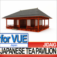 Japanese Tea Pavilion [Edo Era]