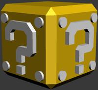 free mario box 3d model