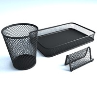 office supplies mesh 3d model
